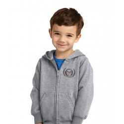 Full-Zip Toddler Hooded Sweatshirt