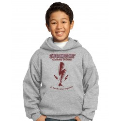 Pullover Youth Hooded Sweatshirt